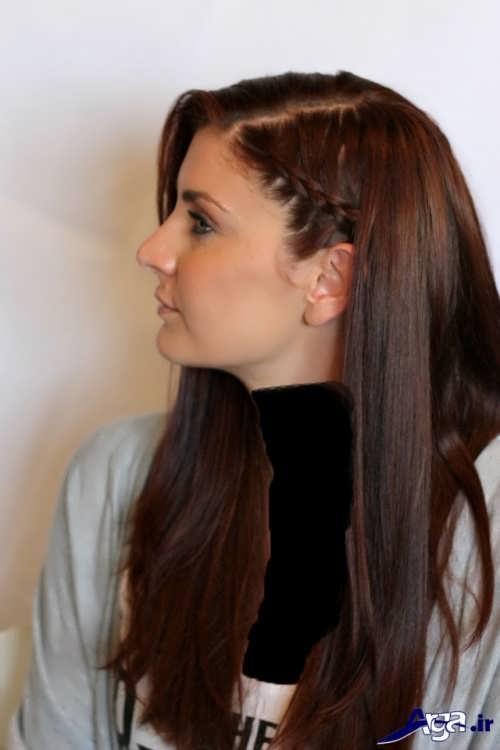 مدل بافت مو کنار سر جدید و متفاوت