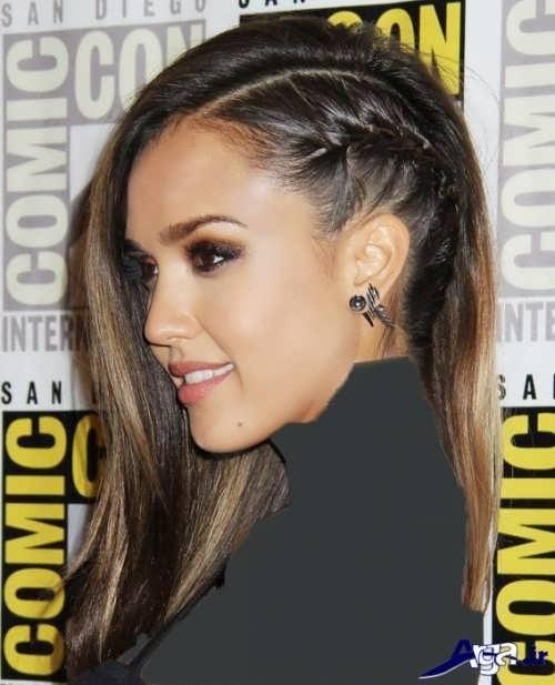 مدل بافت موی زیبا و جذاب زنانه