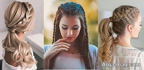 بافت موی شیک و متفاوت