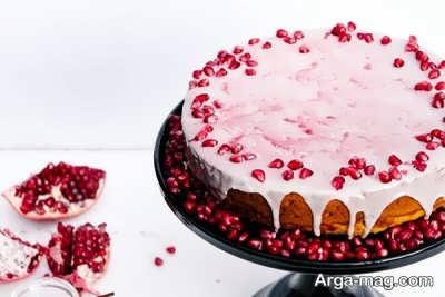 دستور تهیه کیک انار