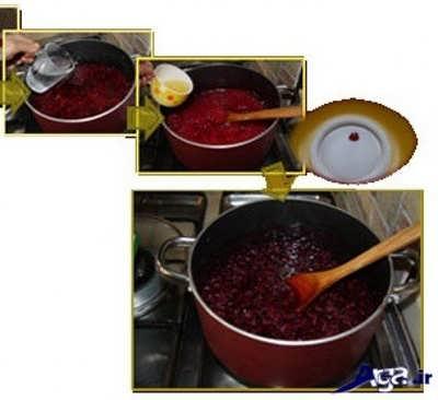 طرز تهیه مربای لبو به صورت مرحله به مرحله