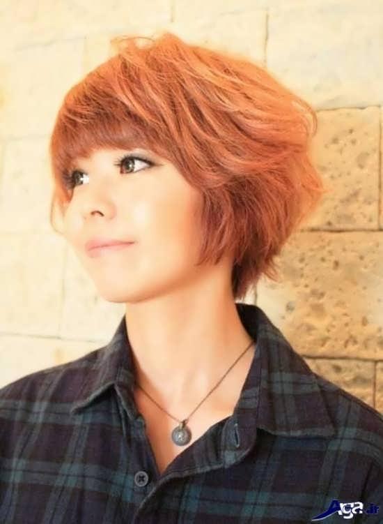مدل موی کوتاه و زیبای کره ای