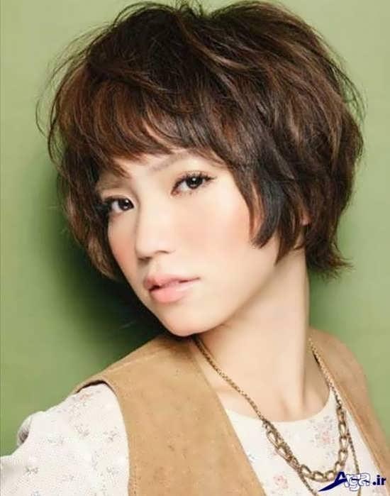 مدل کوتاهی موی دخترانه کره ای