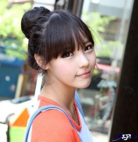 مدل موی جمع دخترانه کره ای