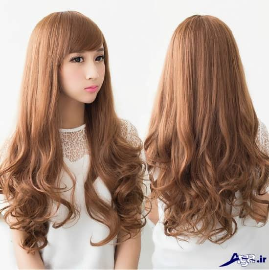 مدل موی بلند دخترانه