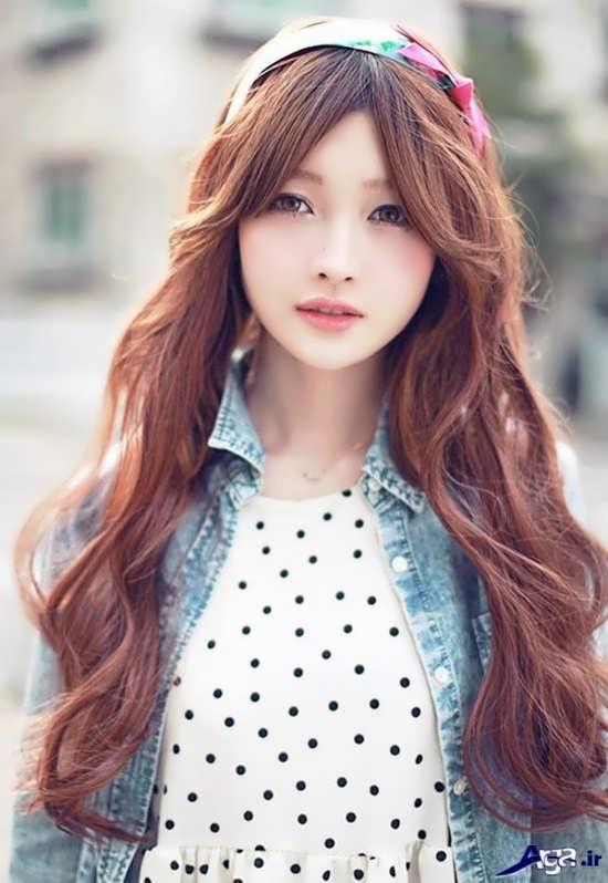 مدل موی کره ای بسیار زیبا