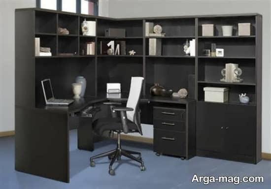طراحی زیبای کتابخانه