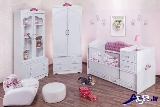 مدل های سرویس خواب دخترانه با طرح های متنوع