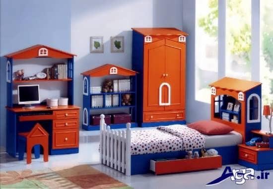 مدل های زیبا و متفاوت سرویس خواب کودک