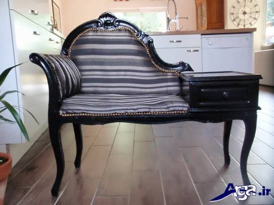 میز تلفن با طرح سلطنتی