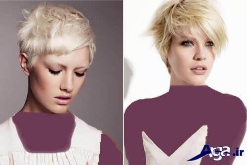 مدل موی کوتاه جدید و شیک