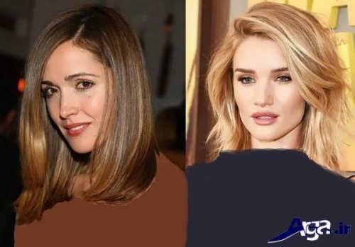 انواع مدل موهای زنانه بلند و کوتاه 2017