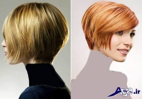 مدل موی کوتاه و جذاب زنانه و دخترانه