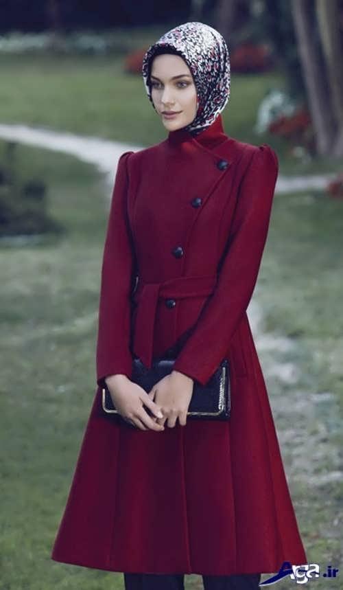 مدل مانتو زرشکی زنانه