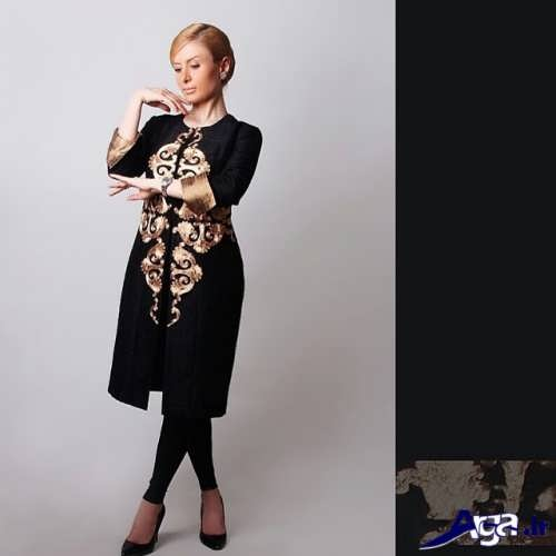 model manto majlesi 2017 akse manto shik bahari eyde 96 aroos site 2017 manto mode emsalعکس مانتو مدل مانتو مجلسی 2017 مشکی و طرحدار مانتو مجلسی مشکی طرح دار و زیبا