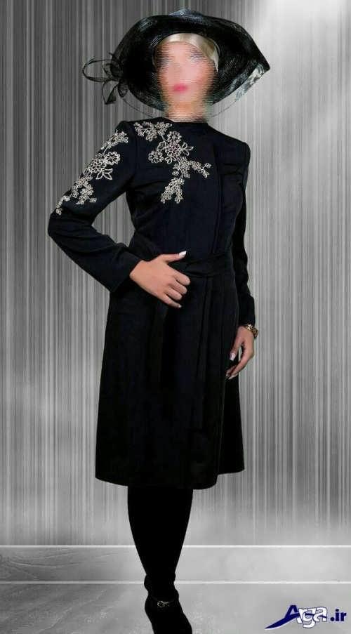 مدل مانتو شیک و زیبا مجلسی