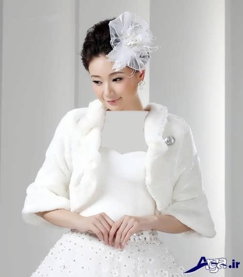 زیباترین مدل کت زمستانی عروس