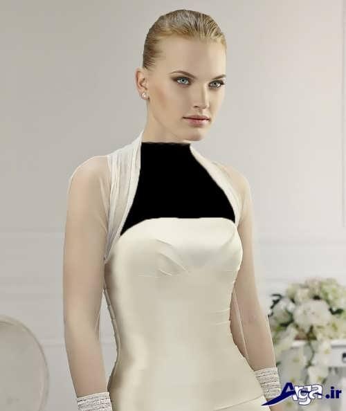 مدل کت روی لباس عروس