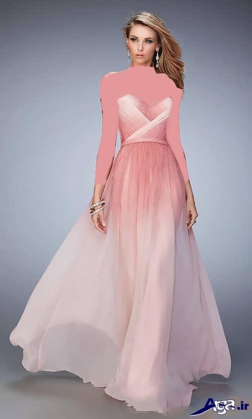 لباس مجلسی بلند زنانه شیک و جذاب