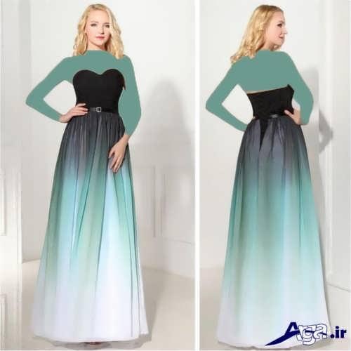مدل لباس مجلسی زیبا و یک دکلته