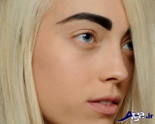 مدل ابرو زیبا و متفاوت زنانه