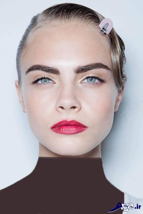 جدیدترین مدل های ابرو دخترانه