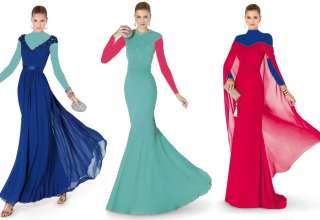 مدل لباس مجلسی بلند زنانه با طرح های زیبا و شیک