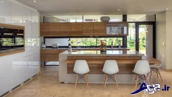 دکوراسیون داخلی آشپزخانه زیبا و جدید