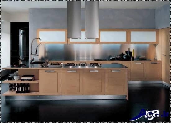 دکوراسیون داخلی مدرن و متفاوت آشپزخانه