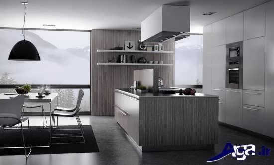 دکوراسیون آشپزخانه های مدرن
