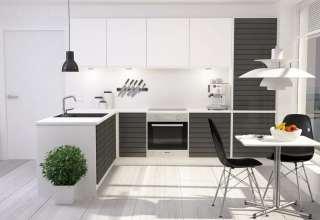 دکوراسیون آشپزخانه مدرن با طراحی شیک و کاربردی