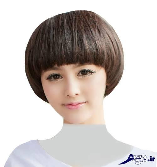 مدل مو زیبا و جذاب قارچی