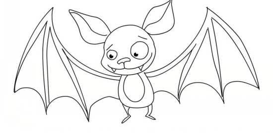 نقاشی زیبا و متفاوت خفاش با طرح های جدید
