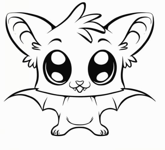 نقاشی خفاش با طرح های مختلف و ایده آل