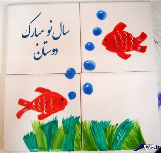 طرح خاتون برای نقاشی نقاشی روی کاشی و سرامیک با ایده های زیبا و بسیار جالب