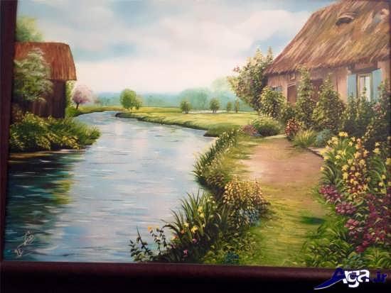نقاشی از مناظر طبیعی