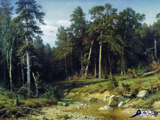 مدل نقاشی طبیعت