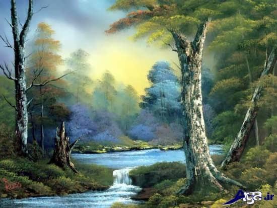 نقاشی مناظر طبیعت