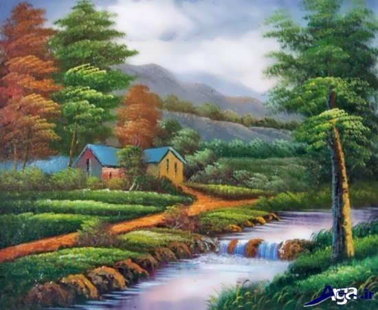 مدل نقاشی از طبیعت