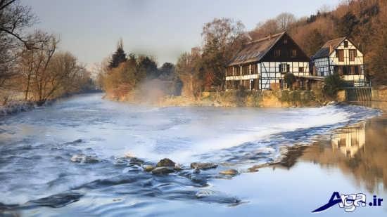 نقاشی طبیعت زیبا