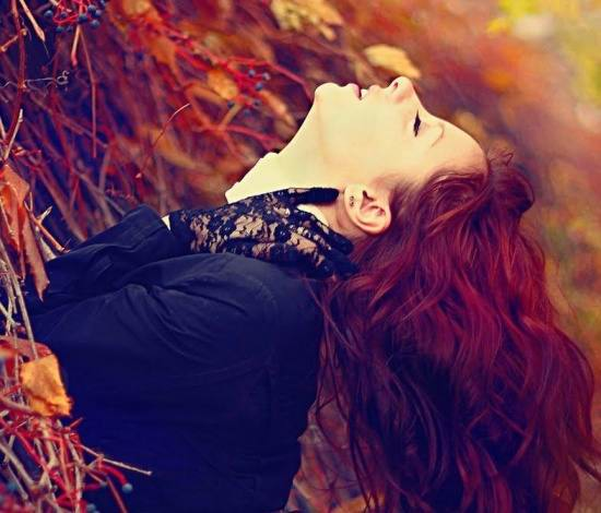 عکسی زیبا از دختر عاشق