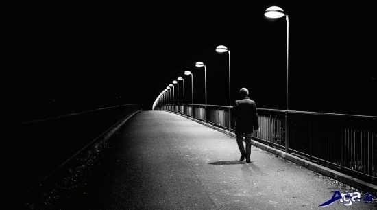 عکس تنهایی و دوری