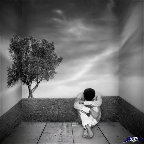 تصاویر تنهایی و انتظار