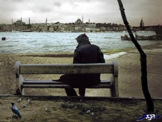 عکس های تنهایی عاشقانه
