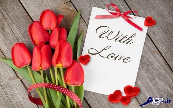 عکس گل عاشقانه و زیبا