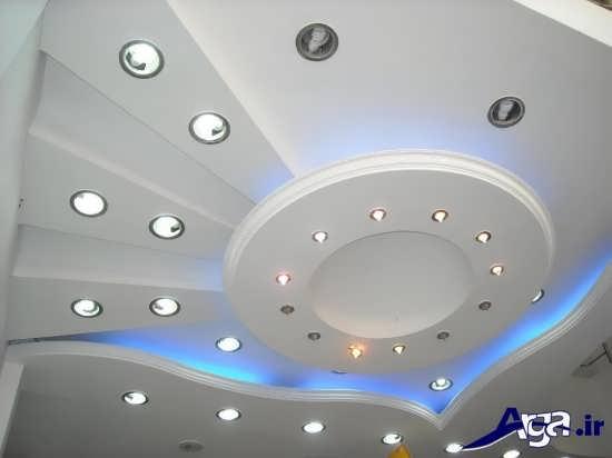 طرح های زیبا و متفاوت سقف کناف