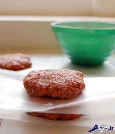 همبرگر مک دونالد خانگی