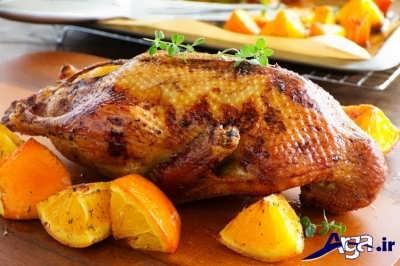 طرز تهیه اردک شکم پر در خانه
