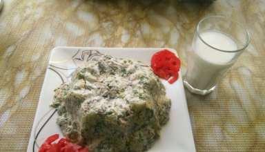 طرز تهیه سالاد پیازچه خوشمزه و خوش طعم