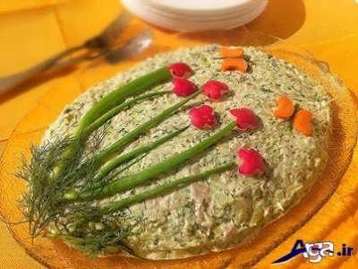 طرز تهیه سالاد پیازچه در خانه